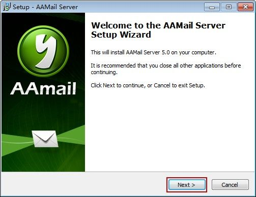 AAMail Server Setup