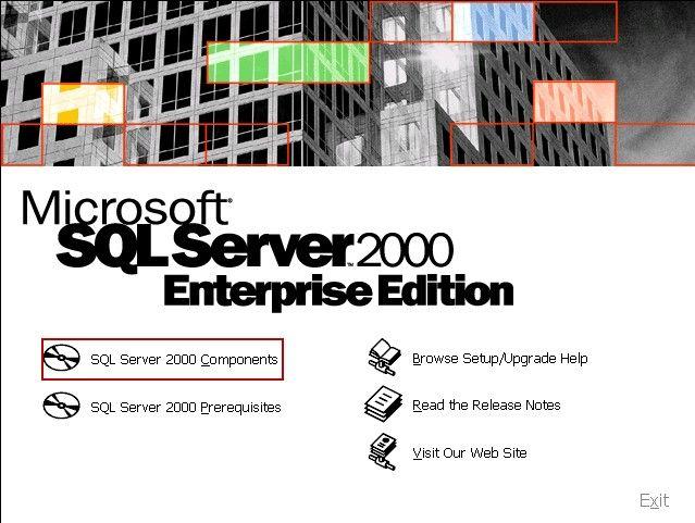 SQL Server 2000 Components