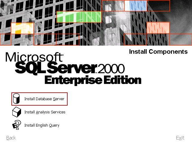 Install Database Server