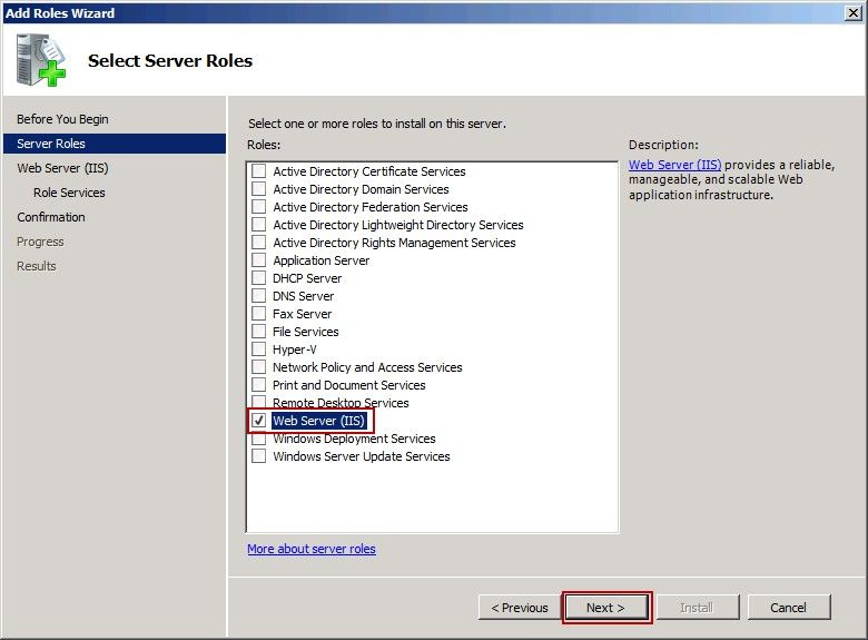 How to Install Windows IIS 7 0 Mail Server