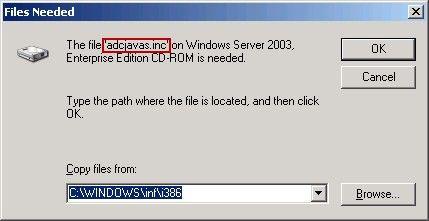 Files Needed