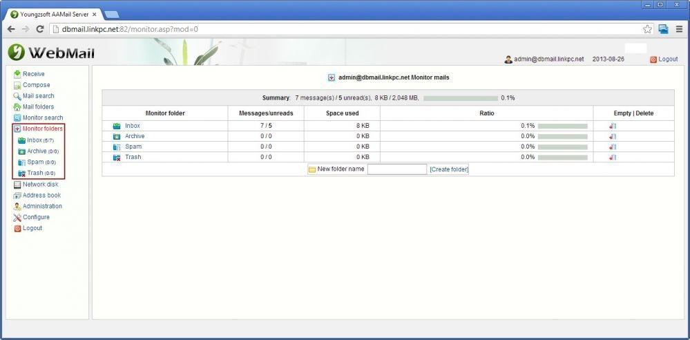 Monitor Folders