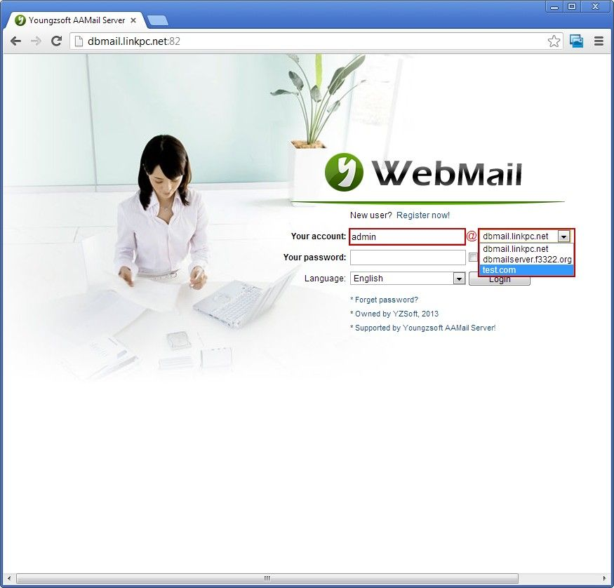 Webmail Login Mode